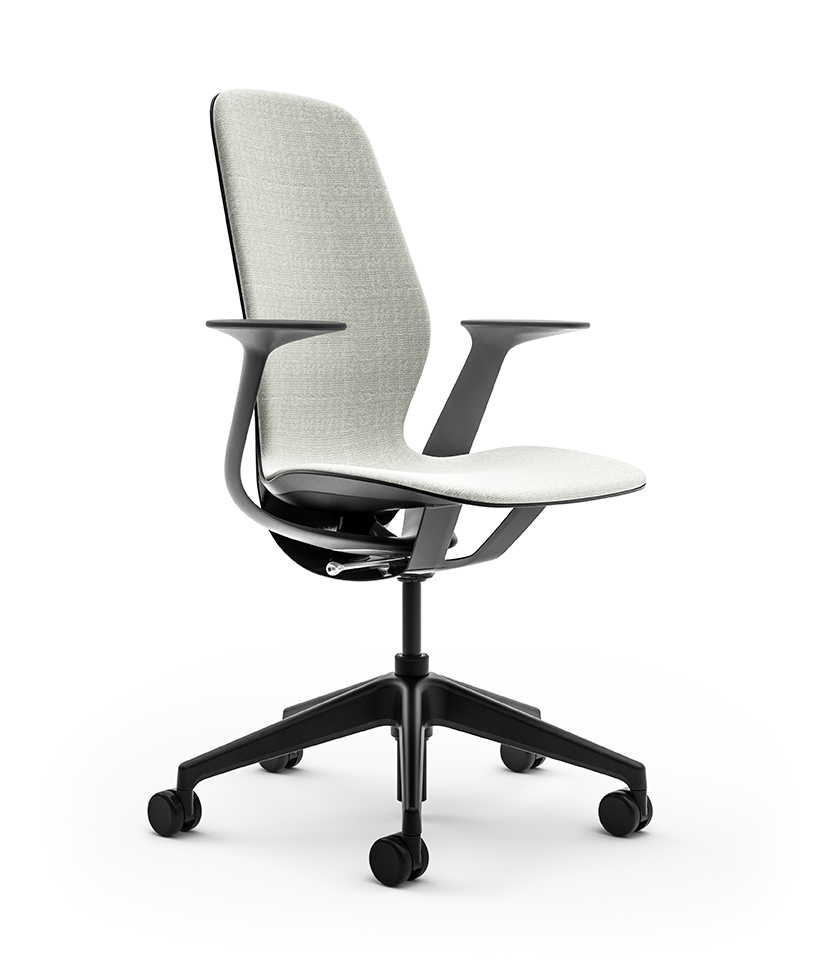 Steelcase Chair Parts Steelcase S Silq Chair Features A Material Performing Like Carbon