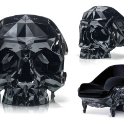 Skull Chair Low Back Dining Chairs A Detailed Look Into Harow S Limited Edition Armchairs Designboom
