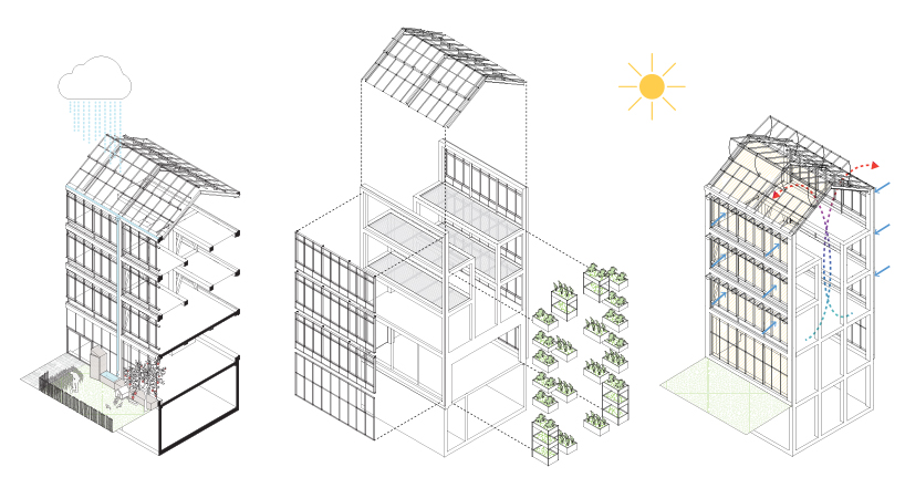 ilimelgo's vertical farm introduces urban agriculture in