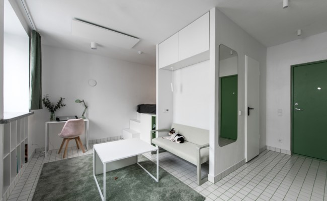 Heima Architects 25 Sq M Micro Apartments Challenge The