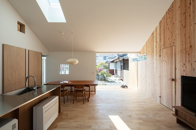 horibe associates architect's office house in sugie designboom