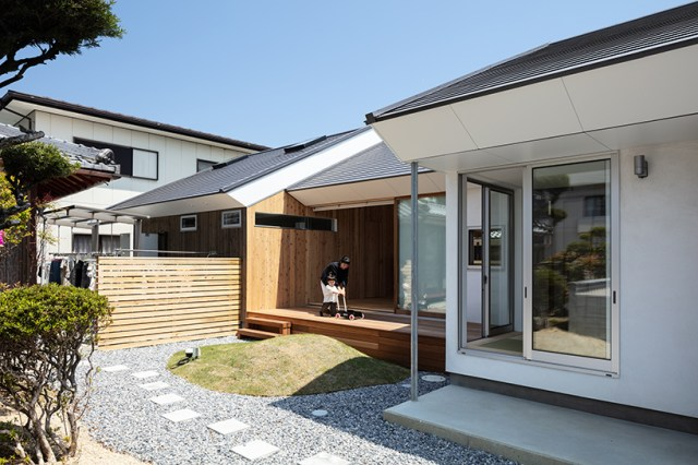horibe associates architect's office house in sugie