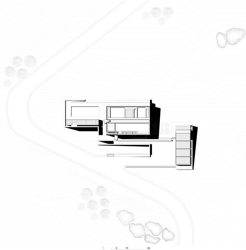 richard meier architects: bodrum houses in yalikavak, turkey