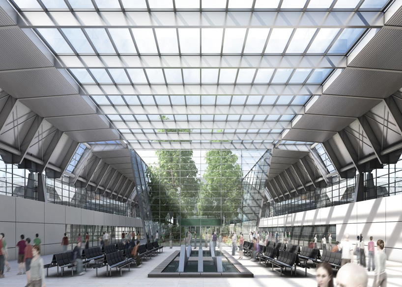 gmp architekten wins bid for national convention and