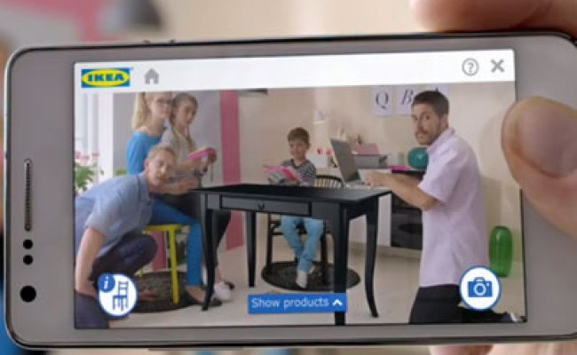 Place Ikea Furniture In Your Home With Augmented Reality App