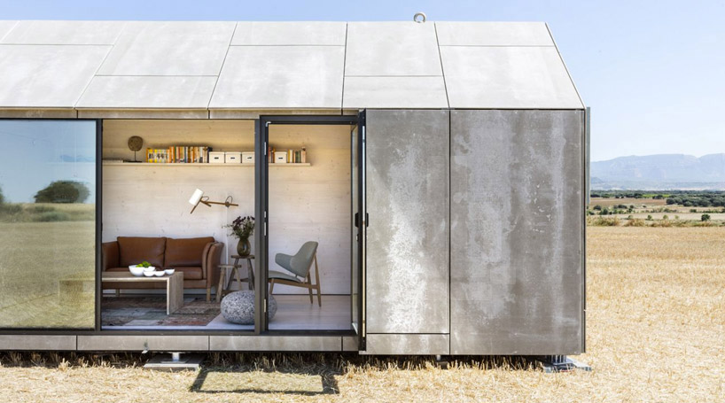 lowcost prefab cement woodboard housing by abaton