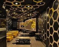 AS design create playful honeycomb restaurant rice home