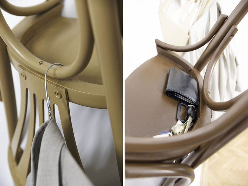 chair upside down on wall bedroom stool or nikos tsoumanis suspends chairs in hanging wairs the