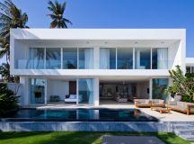oceanique villas by MM++ architects open onto beach in vietnam