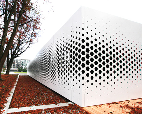 Japan House Plans Format Elf Scripts Parametric Hexagon Pattern For Campus