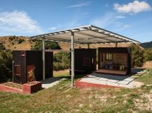 welcome shelter at longbush ecosanctuary in new zealand