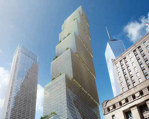Big Reveals Addition To Nyc Skyline With Stepped 2 Wtc