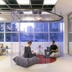 Design Your Own Kitchen Layout Small Dinette Sets Arkiz Completes Relaxed Office Space For Xiaomi In Brazil
