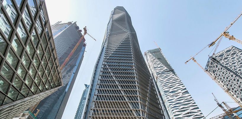 HOKs CMA Tower Nears Completion In Riyadh Saudi Arabia