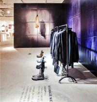 bloom design creates minimal interior for the fashion door ...
