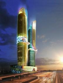 Architecture Dubai Hotel