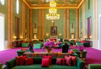 hotel sahara palace marrakech, design by orientalist