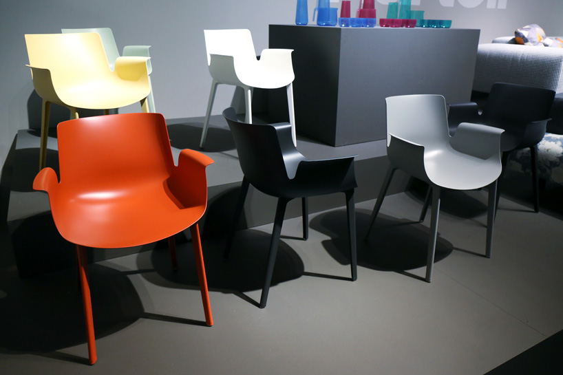 design chair kartell swing with stand online piero lissoni s lightweight piuma for uses material designboom 005