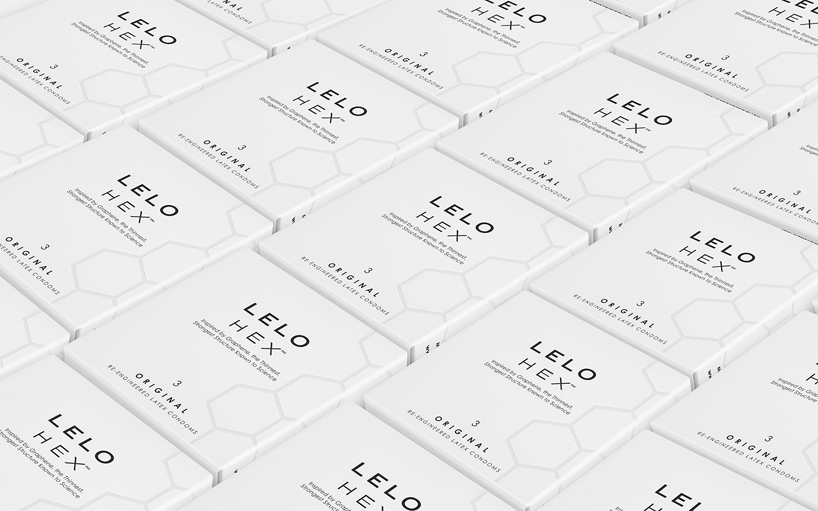 LELO reinvents the condom with HEX™ structure