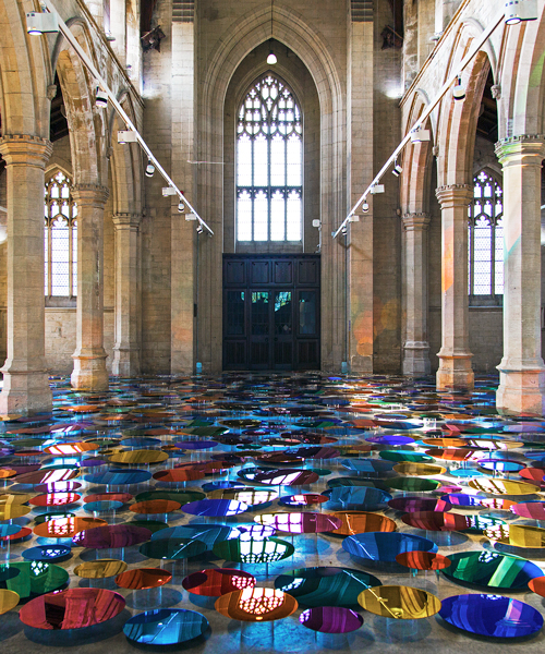 Liz West Turns Historic Uk Church Into A Reflective
