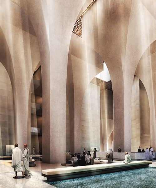 foster  partners selected to build hotel complex in mecca