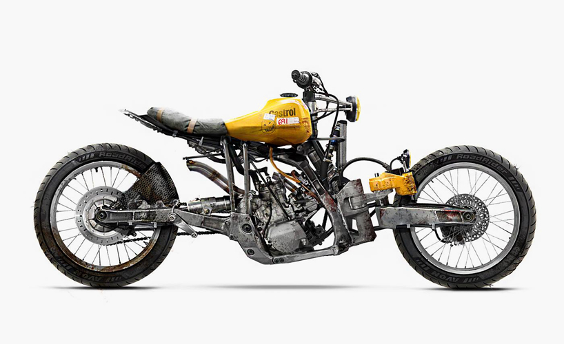 barbara concept motorcycles: a roundup of otherworldly bikes