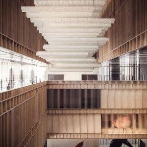 mecanoo's proposal for bao'an public culture and art center in shenzhen