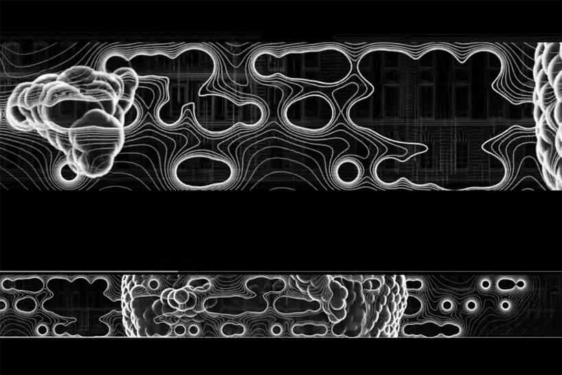 Zaha Hadid Architects Casts Digital Light Mapping