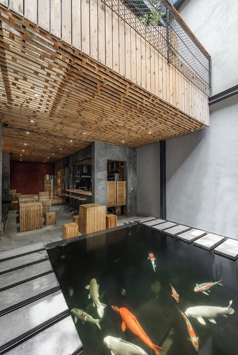 Koi Fish Cafe : Farming, Studio, Employs, Urban, Agriculture, Within, Inspired