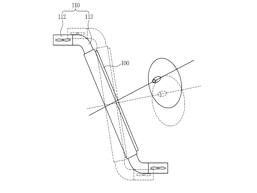 samsung patents drone controlled by tracking your eye and