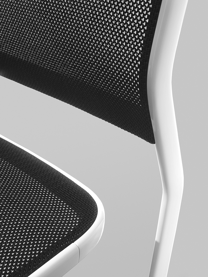marc newsons aluminum chair for knoll honors mies van der