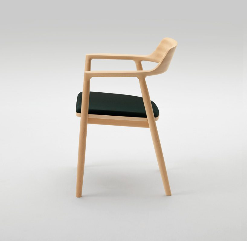 wooden chairs pictures reclining outdoor chair with ottoman maruni celebrates 90th by naoto fukasawa and jasper morrison 90 limited editions of s t o first introduced in 2016 will also be produced unlike the original design made from