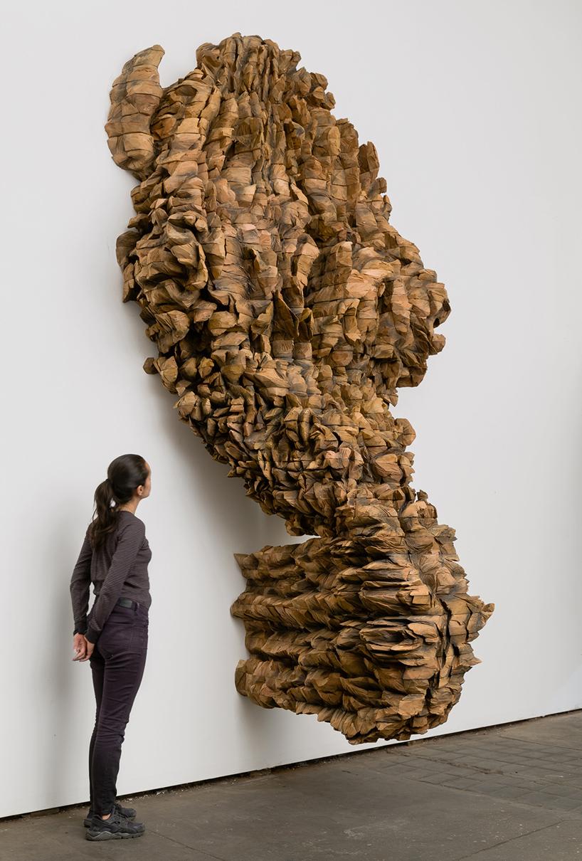ursula von rydingsvard infills galerie lelong with fierce
