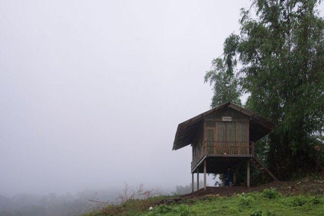 falling rain dormitory thailand
