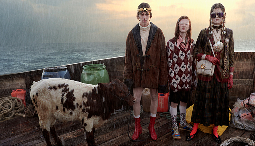 gucci recreates noahs ark in latest campaign gucci gothic