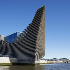 Japanese Inspired Living Room Affordable Wall Art Kengo Kuma Completes V&a Dundee Design Museum