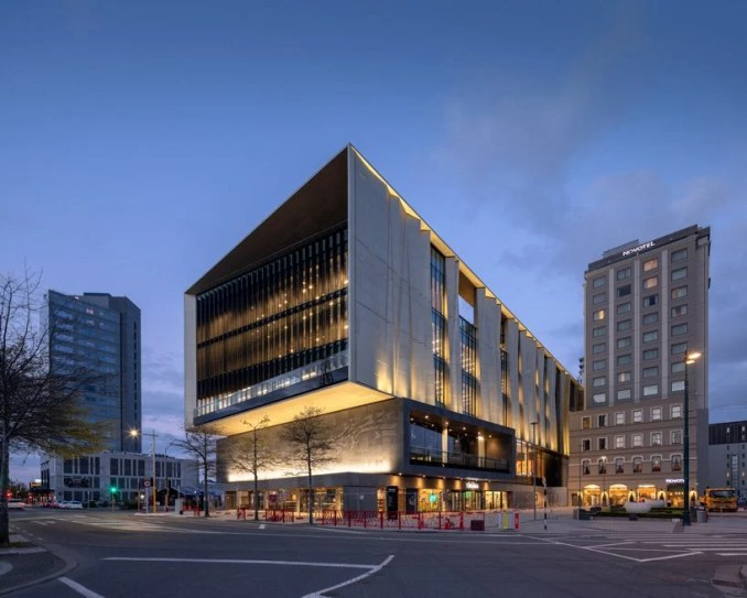 tūranga christchurch central library by schmidt hammer lassen opens in new zealand