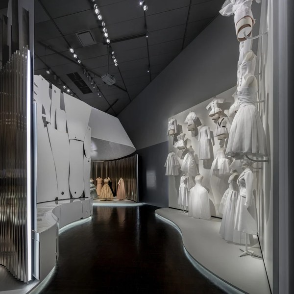 Oma-designed Dior Exhibition Opens Denver Art Museum