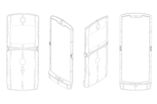 the eagerly anticipated foldable motorola RAZR V4 shown in leaked renders designboom