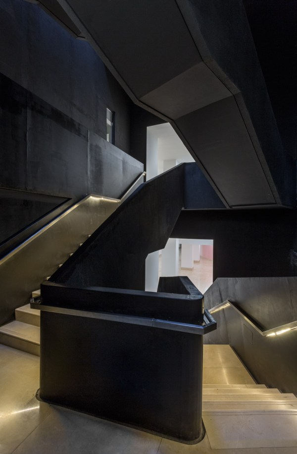 Sculptural Staircase Connects Msgsss-renovated Museum Of Modern Art In Buenos Aires