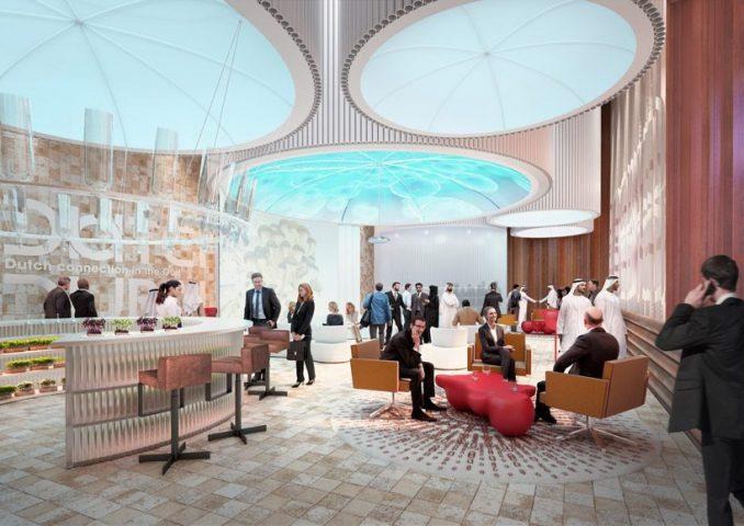 V8 architects reveals design of dutch pavilion for expo 2020 dubai