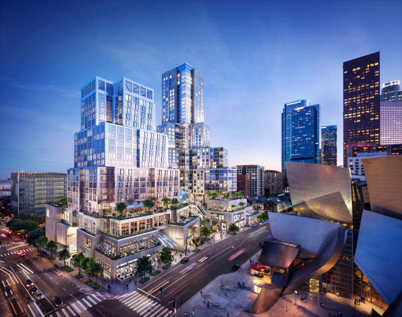 The Grand A Mixed Use Development By Frank Gehry Breaks