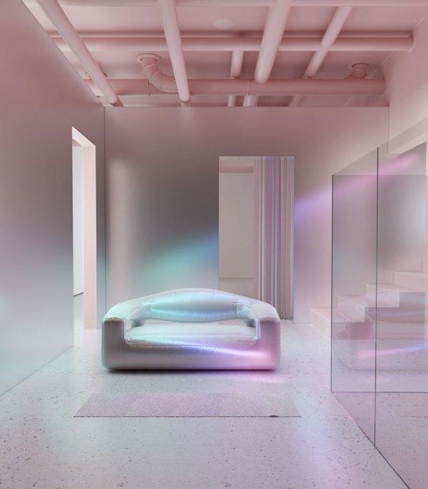 Six . Five' Holographic Furniture Takes Scandinavian