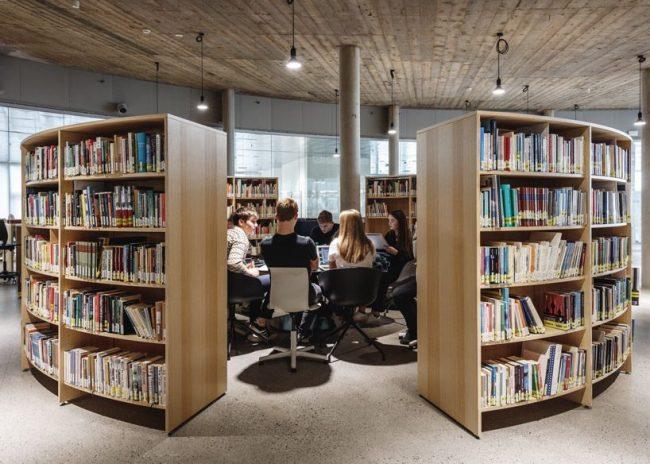 BIG nestles the 'glasir' college into the undulating landscape of the faroe islands designboom