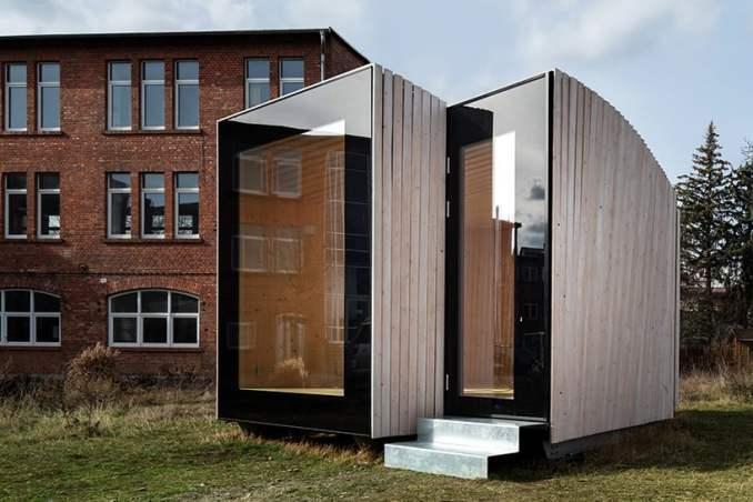 IBA timber prototype house
