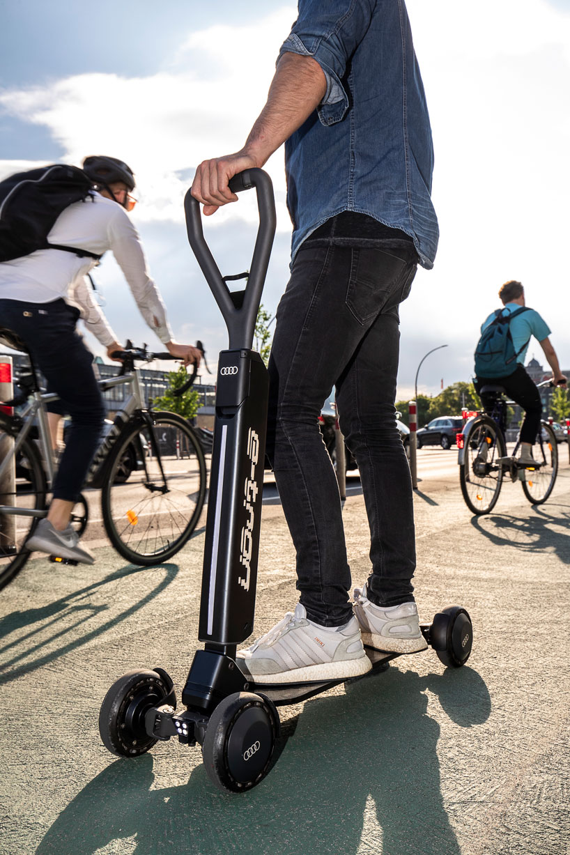 Audi Takes On City Scooters With Skateboard Inspired E