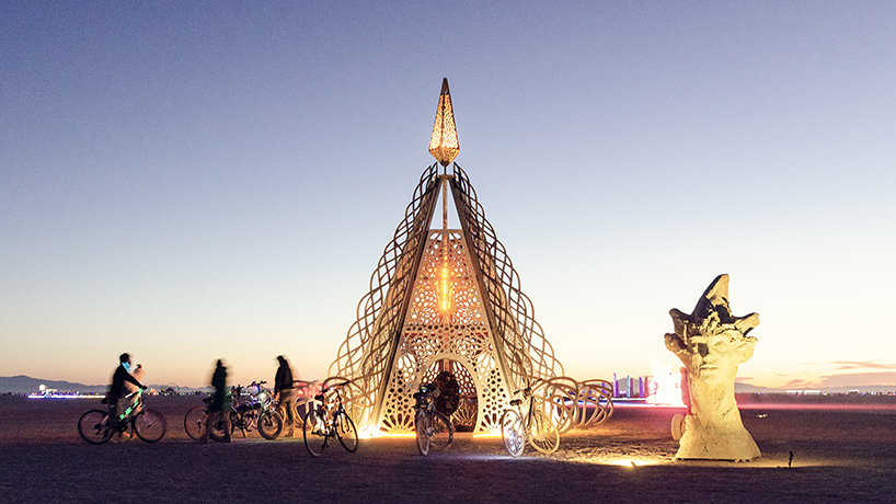 burning man 2019 pavilion reimagines myth of andromeda for female empowerment
