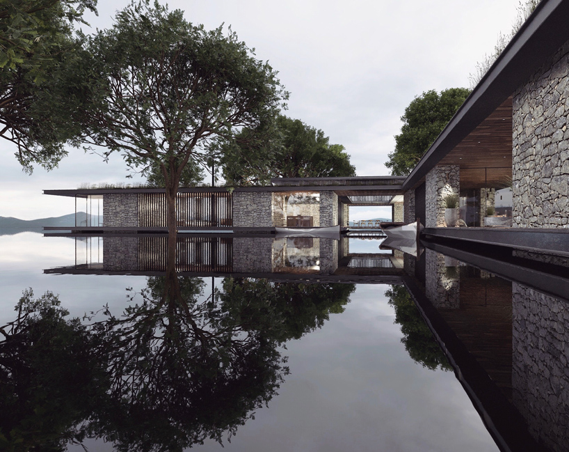 antony gibbon's latest vision 'loch eight' floats across a