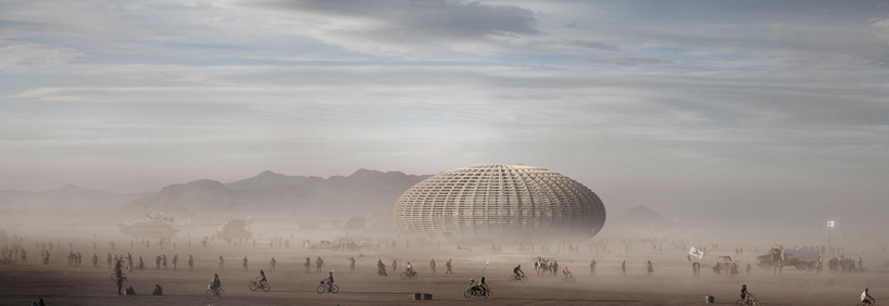 fr-ee holon temple burning man