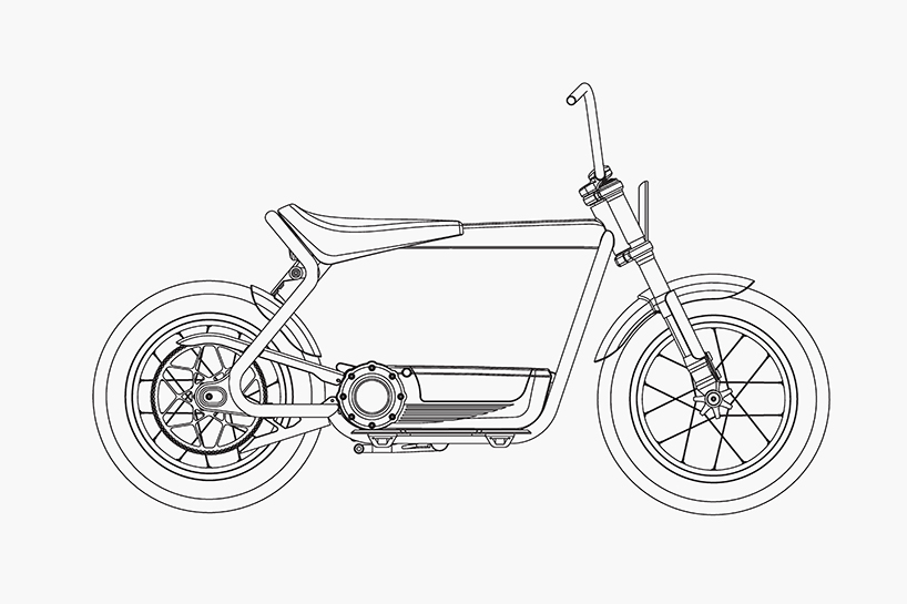 harley-davidson electric scooter concept races towards